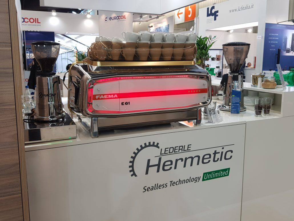 Chillventa Hermetic Pumpen Kaffeecatering