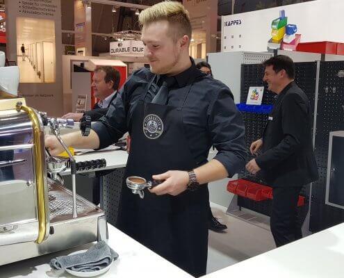 LogiMat 2019 // Kaffeecatering für Kappes Kaffeebar