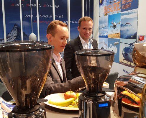 AERO 2019 - AGCS Allianz Luftfahrt, Kaffee & Co.