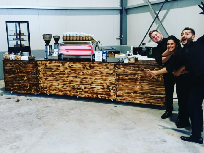 Amprion Zentrallager Eröffnung Kaffeecatering