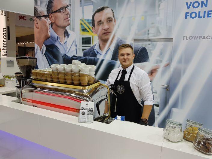 FachPack Hugo Beck Starbarista Kaffeecatering
