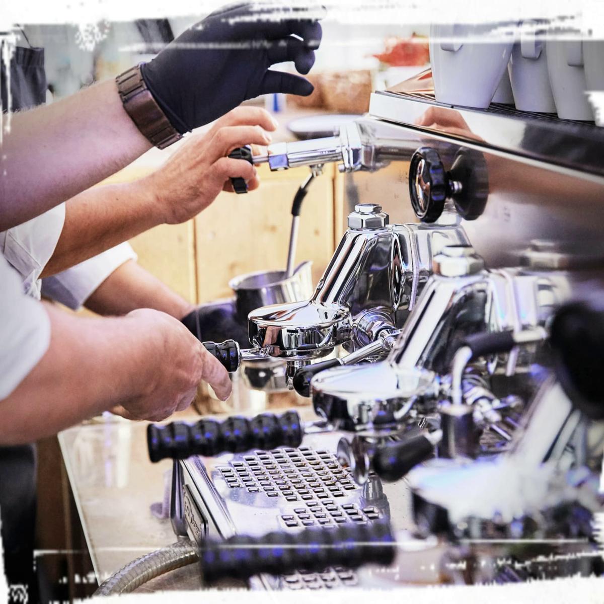 Kaffeecatering Baristaservice Messen
